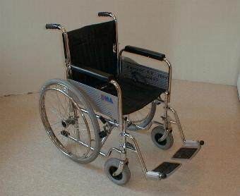 London wheelchair rental - Lightweight self propelled folding wheelchairs for hire