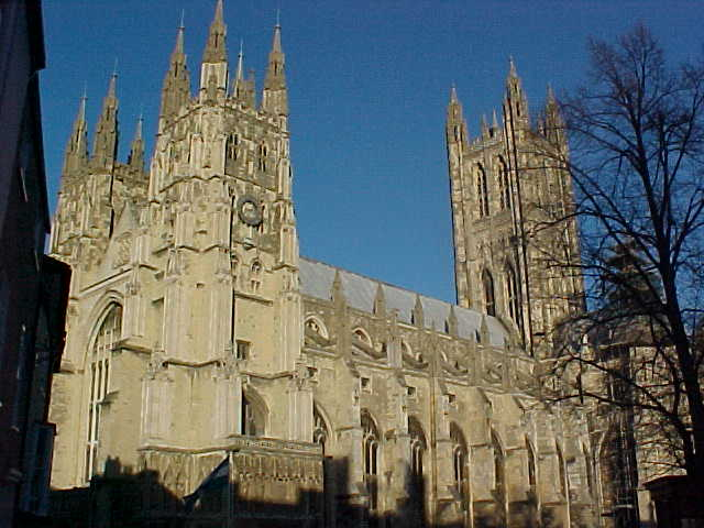 Canterbury Cathedral sightseeing